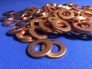 Metal copper washers