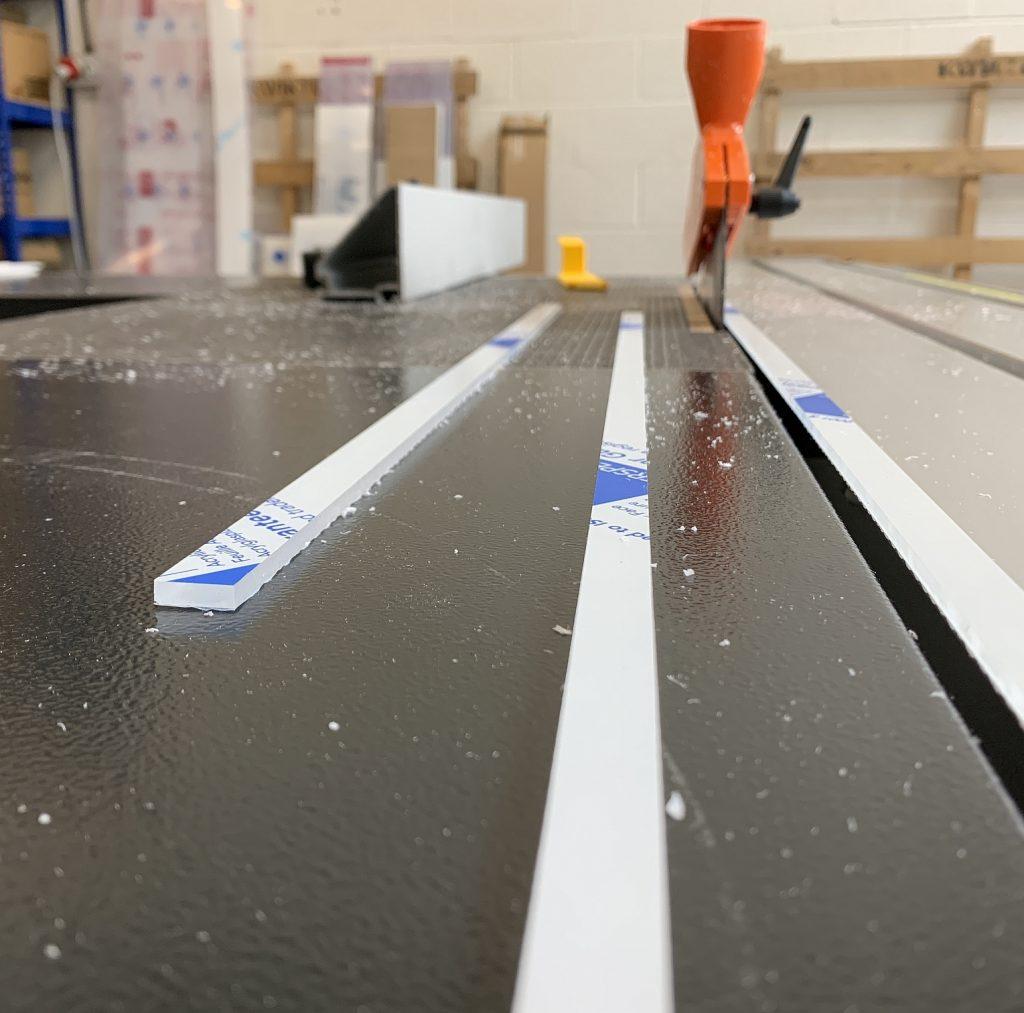 Plastic Sheet Cutting